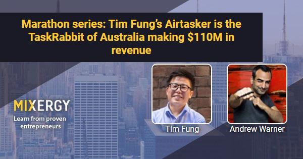 Marathon series: Tim Fung's Airtasker is the TaskRabbit of