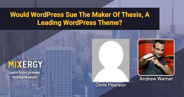 thesis themes chris pearson Thesis theme 265 likes chat with others users that are utilizing the thesis theme for wordpress  thesis founder chris pearson interview there is much debate.