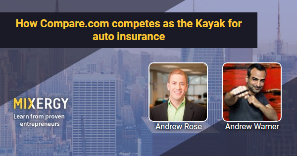 #1848 How Compare.com competes as the Kayak for auto insurance - RapidAPI