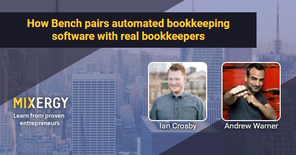 How Bench pairs automated bookkeeping software with real bookkeepers