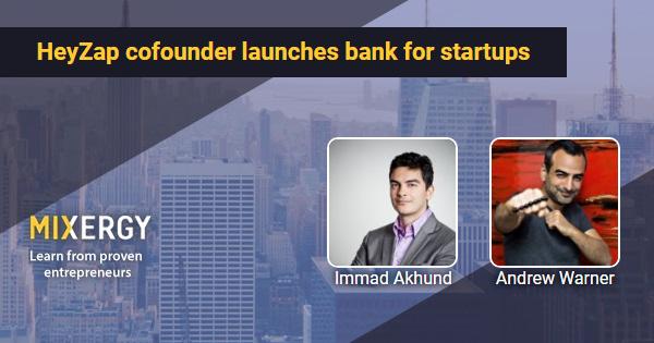 #1990 HeyZap cofounder launches bank for startups - RapidAPI