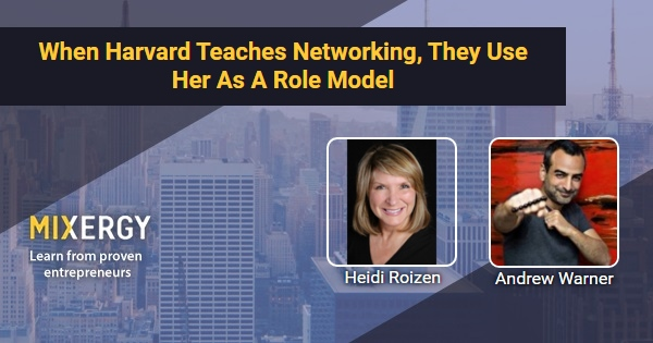 heidi roizen case essay Case study for review is the heidi roizen case written by kathleen mcginn and nicole tempest (harvard business school case 9-800-228) physical copies of the case were distributed in class on april 19th electronic copies can be accessed via the lms please answer the following questions regarding the case study in the context of [.