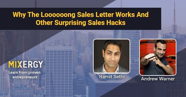 Why The Loooooong Sales Letter Works And Other Surprising