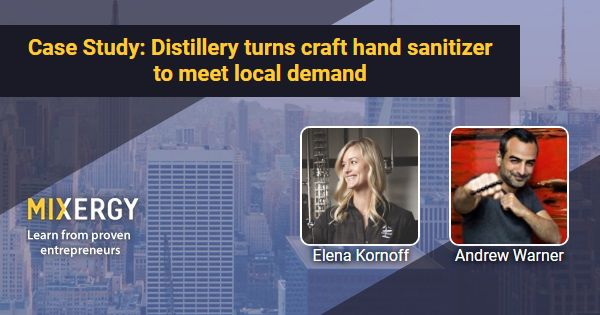 Case Study: Distillery turns craft hand sanitizer to meet local demand 8