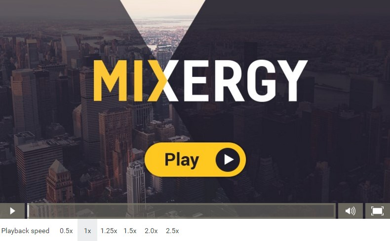Mixergy