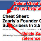 How We're Making Cheat Sheets Better for You (What Do You Think?) | Business Tips