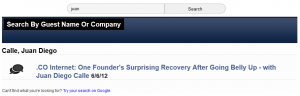 "You can see the ""Retry search on Google"" link in this screenshot (click to enlarge)."